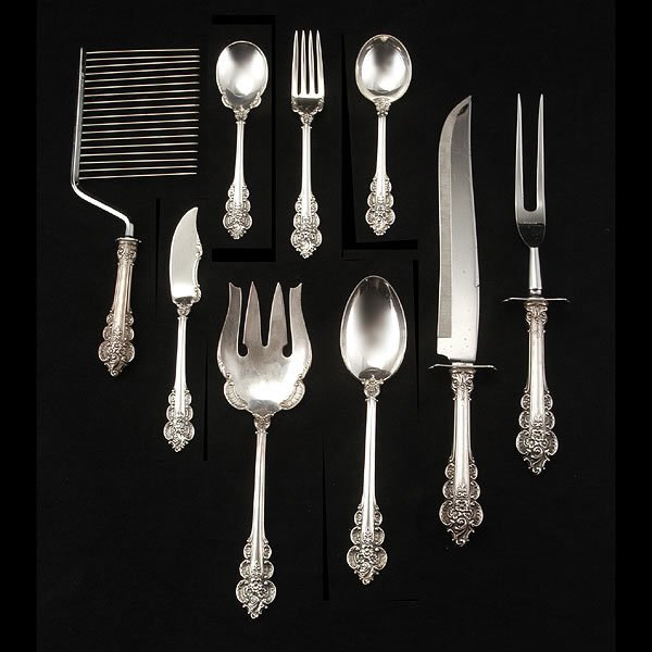 9: Frank Whiting Boticelli Strlng Flatware