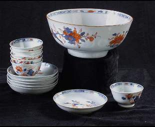 Chinese Imari Porcelain tea set