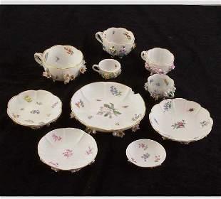 Dresden & Meissen Floral Porcelain