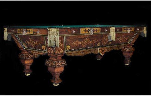 718: Brunswick & Balke Pool/Billiard Table