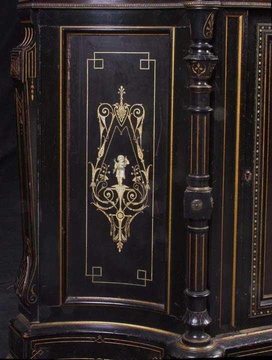 728: Victorian Parlor Cabinet poss. Herter - 2