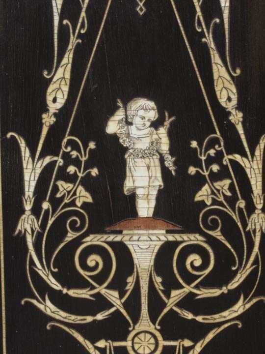 728: Victorian Parlor Cabinet poss. Herter - 4