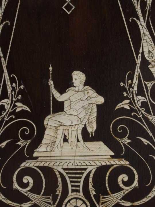 728: Victorian Parlor Cabinet poss. Herter - 5