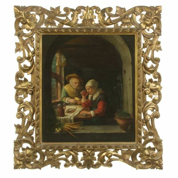 1003: Dutch School 17/18th C. The Conversatio