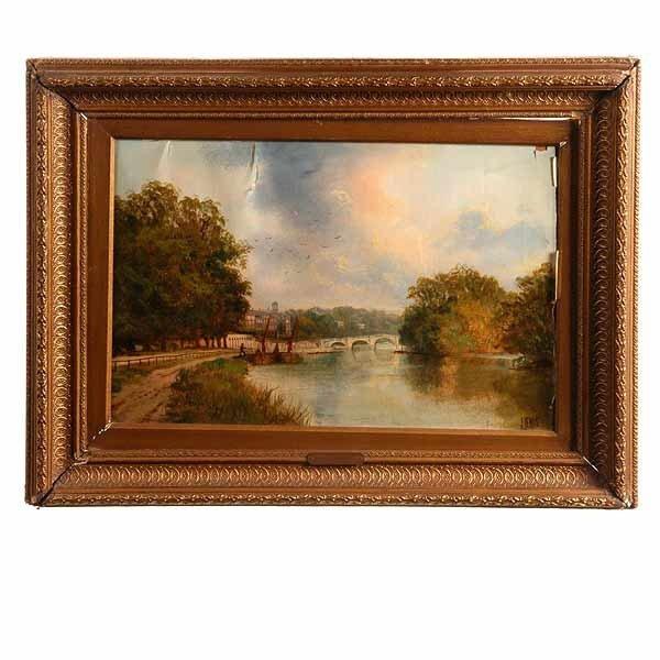 1006: John Lewis, The River Thames.