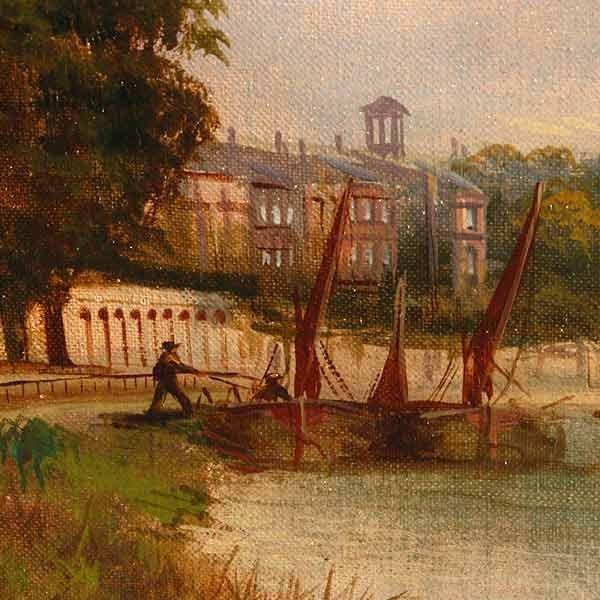 1006: John Lewis, The River Thames. - 3