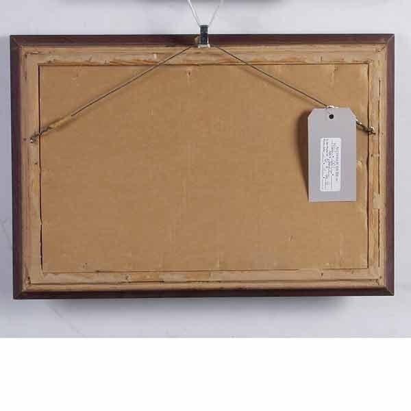 1089: E A Burbank, Indian Crafts, Oil Paintin - 5