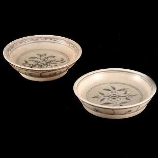 Two 15th/16th Cent. Vietnamese Saucers