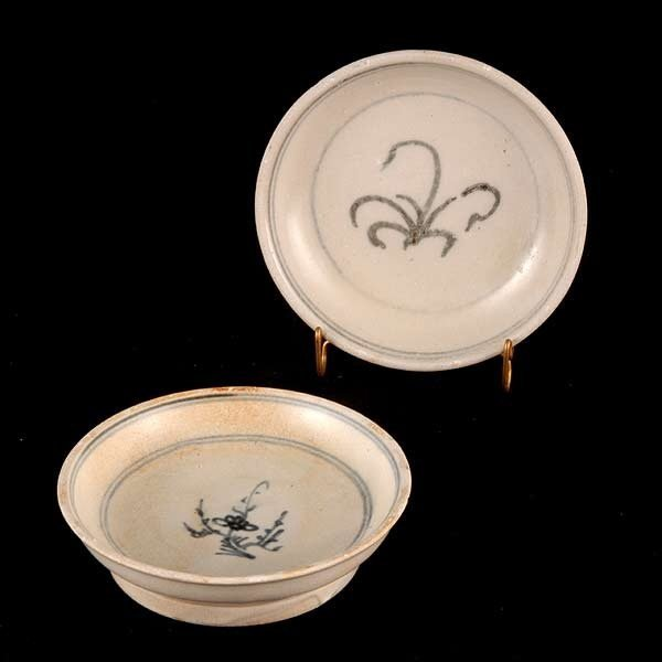 22: Two 15th/16th Cent. Vietnamese Saucers