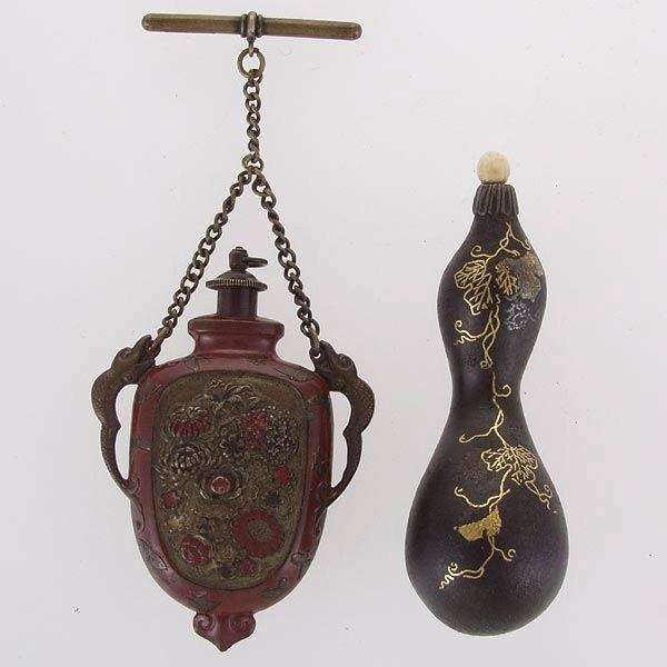104: Two Japanese Snuff Bottles, 19th C.