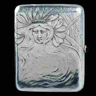 Art Nouveau Faberge Cigarette Case