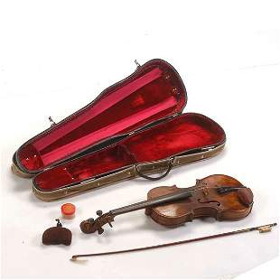 Lupot Violin in Fitted Case, Kittel