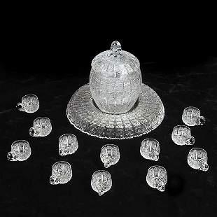 Crystal Punch Set