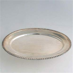 Grogan Company Sterling Oval Platter