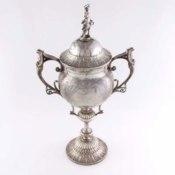 6: 19thC Victorian Sheffield Loving Cup