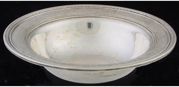 19: International Silver  sterling bowl Wedgw