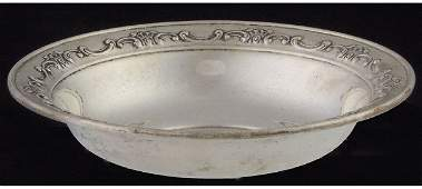 25: Gorham Sterling silver candy dish