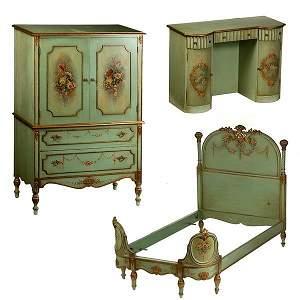 790: Rococo Style Bedroom Suite