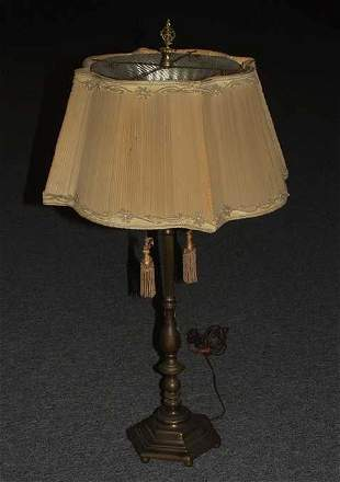 Electrified table lamp