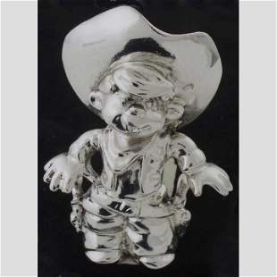 "Sterling ""Dennis The Menace"" cowboy figur"