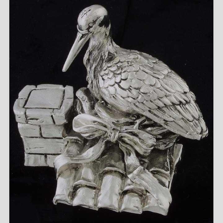 18: Sterling bird figure