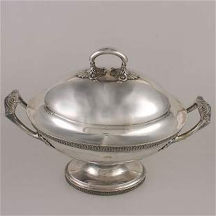 Tiffany & Co. Silver Plate Covered Tureen