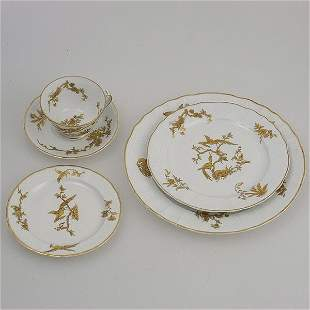 Limoges Thirty Piece Dinner Service