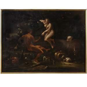 1517: Italian, 18th C. Adam and Eve