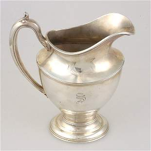 Reed & Barton Silver Plated Water Pitcher
