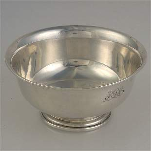 Tiffany and Co. Sterling Revere Bowl #2617