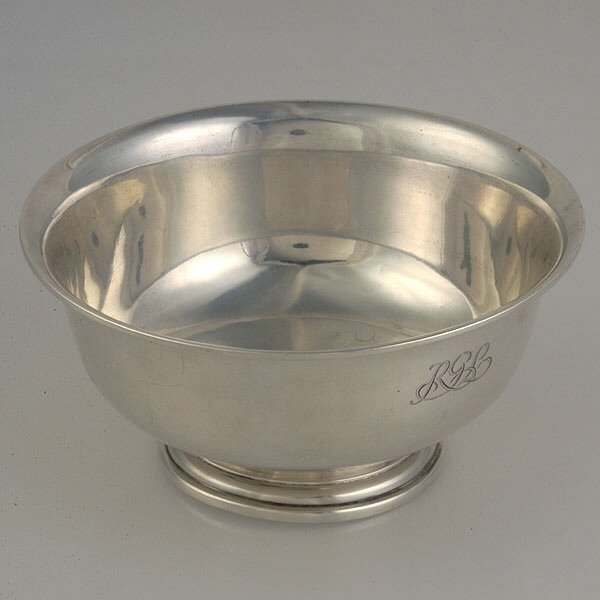 8: Tiffany and Co. Sterling Revere Bowl #2617