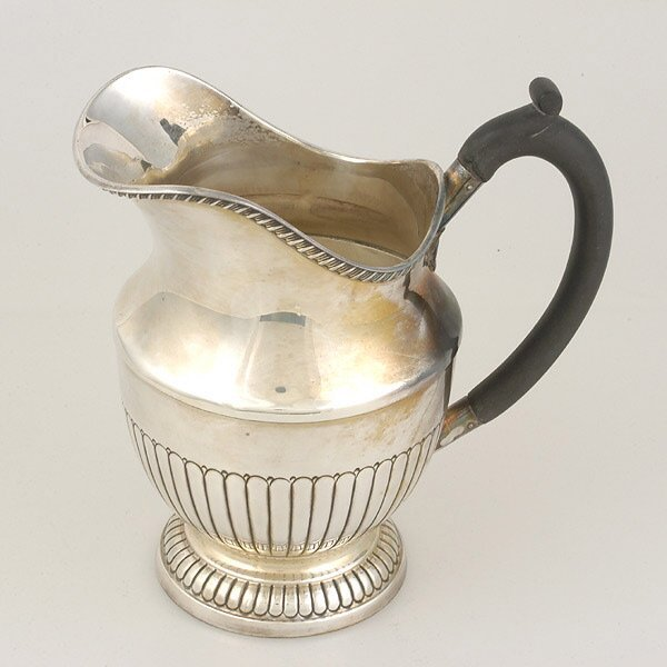 22: Sterling Water Pitcher