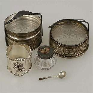Grouping of Sterling Items,