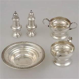 Five Misc. Sterling Items