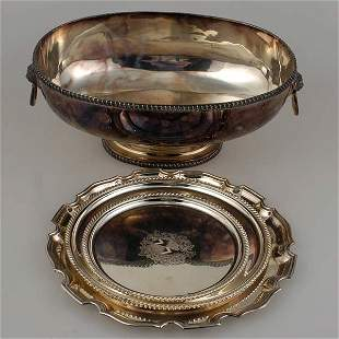 Four Piece Grouping of English Silverplate