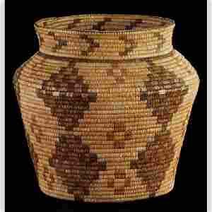 9: American Indian Olla Basket