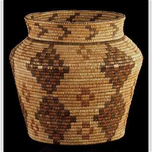 American Indian Olla Basket