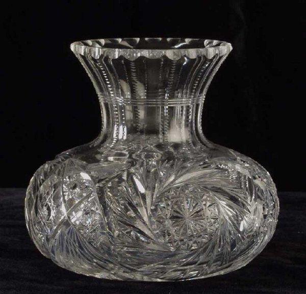 23: Cut crystal carafe