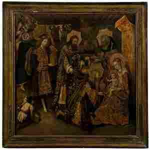 1028: SPANISH 15TH CENTURY ATTR. TO JUAN REIXACH THE MA