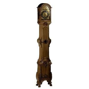 Rococo Style Tall Case Clock