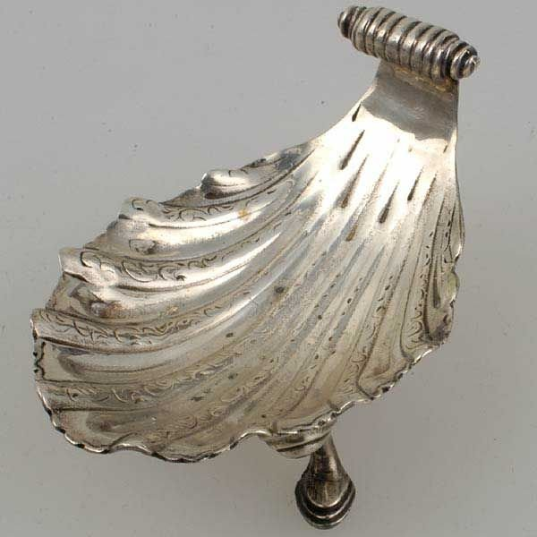 2012: English Regency Sterling Footed Salt, Paul Storr