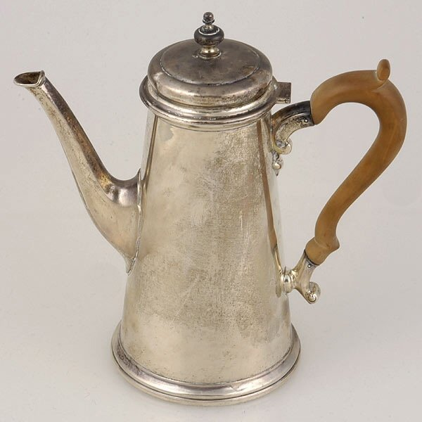 2013: Sterling Coffee Pot