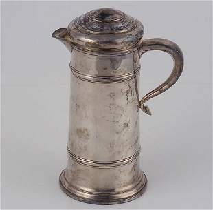 Whiting Sterling Tankard in Early American Patter