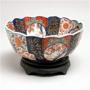 Japanese Imari Bowl, Early 20th C.