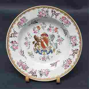 Samson Chinese Export Style Porcelain Plate