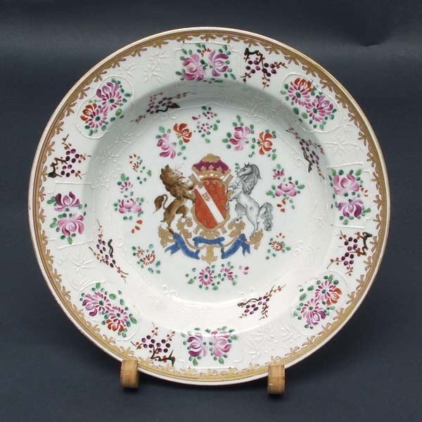 9: Samson Chinese Export Style Porcelain Plate