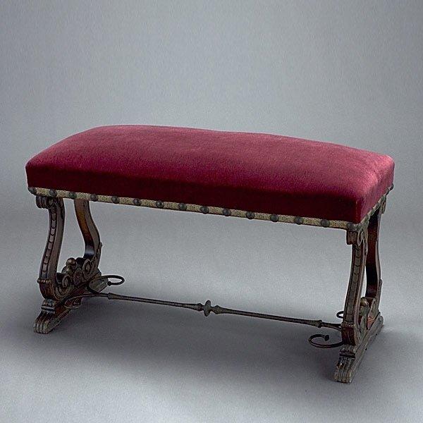 1005: Renaissance Revival Bench
