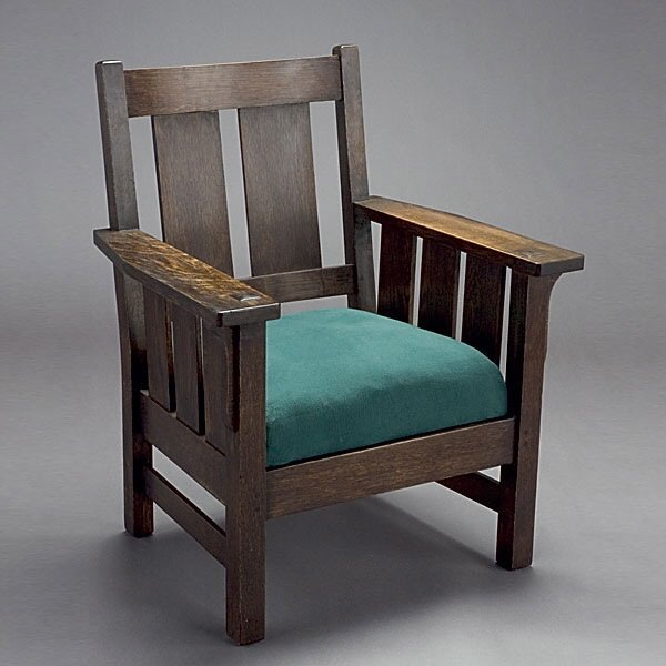 1012: Lifetime Furniture Arts and Crafts Armchair