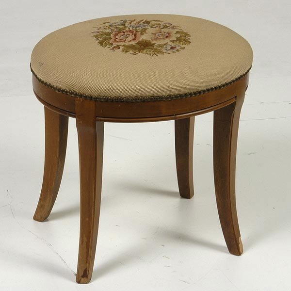 1022: Neoclassical Style Footstool