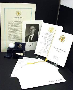 President George W Bush Inauguration Items 2 Pres Gi